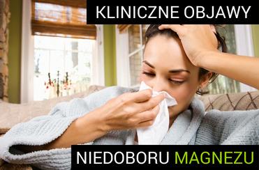Niedobór magnezu - kobieta z osłabioną odpornością