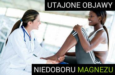 Kobieta z problemami mięśniowymi wynikającymi z niedoboru magnezu
